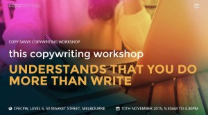 copywriting courses in melbourne