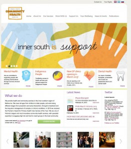 community health service website developer
