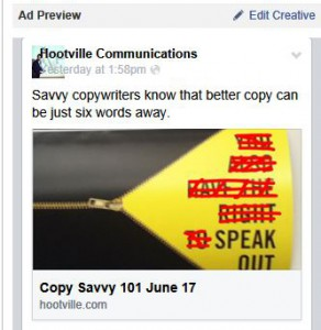 social media copywriting advice