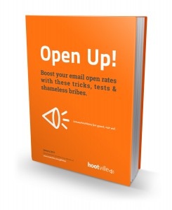 eMarketing advice open rates