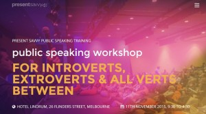 public speaking courses in melbourne